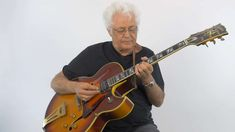 Larry Coryell Blues and Beyond Learn Guitar Online, Larry Coryell, Blues, Campaign, Teaching, Medium, Top, Education, Crop Shirt