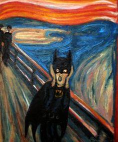de schreeuw: batman