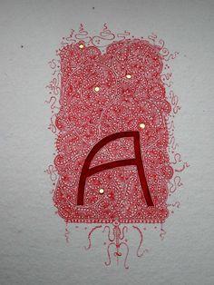 Anachropsy - Calligraphie latine par Benoit Furet - aaaaaah