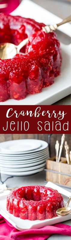 Cranberry Jello Salad Recipes Thanksgiving is One Of Favorite Salad Recipes Of Many People Round the World. Besides Easy to Produce and Great Taste, This Cranberry Jello Salad Recipes Thanksgiving Also Health Indeed. Cranberry Jello Salad, Cranberry Recipes, Cranberry Juice, Orange Juice, Orange Jello Salads, Cranberry Muffins, Pineapple Juice, Lime Juice, Thanksgiving Sides