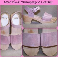Sven Clogs - Google+ New Pink Champagne Leather: Sven Clogs https://www.svensclogs.com/catalogsearch/result/?q=pink+champagne #pinkchampagne