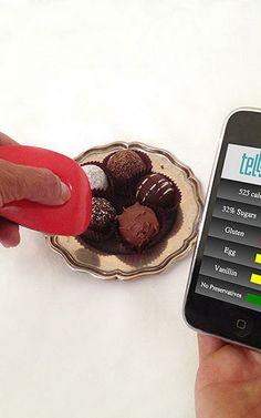 Un aparato mide las calorías, azúcar y transgénicos de los alimentos