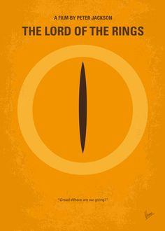 No039 My Lord of the Rings minimal movie poster by ~Chungkong on deviantART