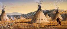 Hautman Lakota Village Rear Window Graphic