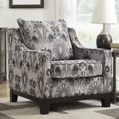 Ave Six Regent Arizona Polyester Club Chair & Reviews   Wayfair