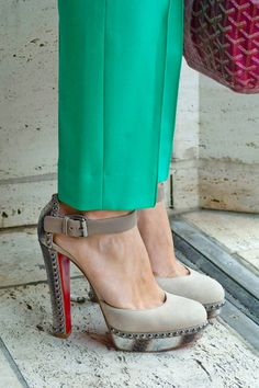 386dab8e72e Christian Louboutin Luxura heels lt 3 Minimalist Fashion