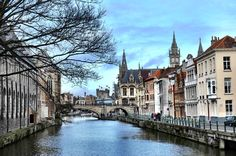 A Writer Falls In Love Abroad gent ghent belgium europe travel citytrip Belgium Europe, Visit Belgium, Ghent Belgium, Travel Belgium, Places To Travel, Places To Visit, Need A Vacation, Plan Your Trip, Small Towns