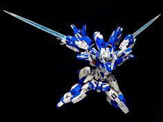 HG 1/144 Gundam AGE-FX + AGE-3 Orbital Custom Build - Gundam Kits Collection News and Reviews