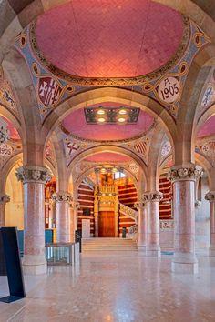 Antic Hospital de Sant Pau ( Foto de David Cardelus.)