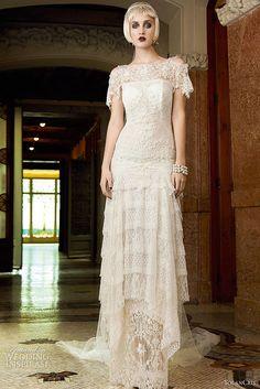 Inspirado nos anos 20, vestido super original.