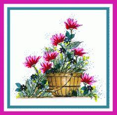 Sketchy Poppy Card