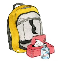 """""""Life Hack No. 3: Living with type 1 diabetes isn't a walk in the park, but these 7 hacks can make day-to-day management easier.1. Keep a travel-size bottle of hand cream in your purse, brief case, or backpack. Dry skin is an irritating side effect of diabetes, but moisturizing often can help eliminate the itch.hand cream2. Prepare a week's worth of snacks and place them in clear storage containers or bags for when you're crunched for time. If you can, label each snack with the t"""