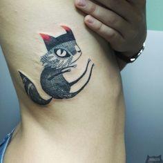Panakota tattoos www.instagram.com... #tattoo #tatuaz #tattoowork #project #design #ink #inked #graphic #tattuaggio #btattooing #tattuaje #illustration #татуировка #тату #tetovani #tätowierung #tatuajes #panakota #littletattoos #fox #foxtattoo