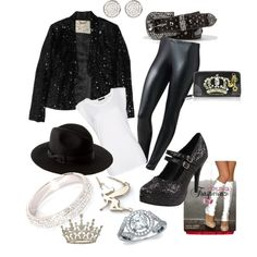 """""""Michael Jackson inspired Outfit"""" by lizzie-bean on Polyvore"""