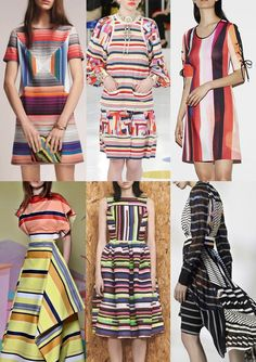 Pre Spring/Summer 2016 Catwalk Print & Pattern Trend Highlights - Missoni / Chanel / Clover Canyon / Christian Siriano / House of Holland / Preen by Thornton Bregazzi