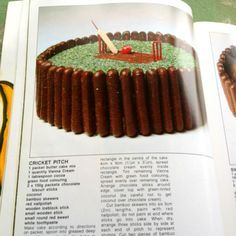 Women's weekly cricket cake