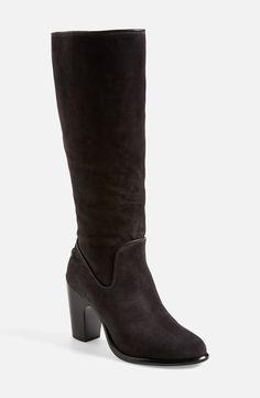 rag & bone suede black boot.