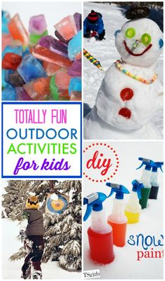 Over 10 outdoor activities for kids to have some fun outside in the winter