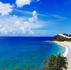 Beauty and the Blues Curtain Bluff #Antigua #Barbuda