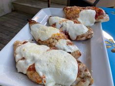 Get Grilled Chicken Parmesan Recipe from Food Network
