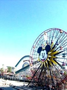 California Adventure (Disney Land) go there and relive my childhood(: