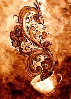 Coffee Decor C . - The Gourmet Coffee Cup - Kaffee
