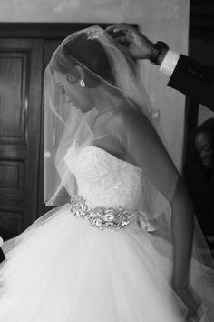 Flashback Friday: Real Weddings {Reality Stars NYC}: Kimberly and Alaska! - Blackbride.com  my beautiful niece Kimberly V