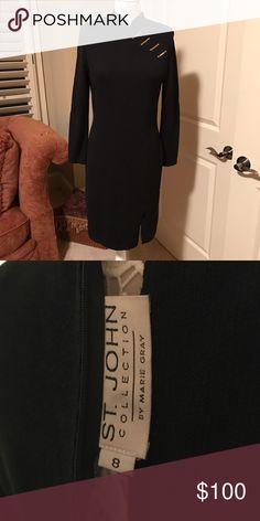 St. John dress St.John knit dress Dresses Midi