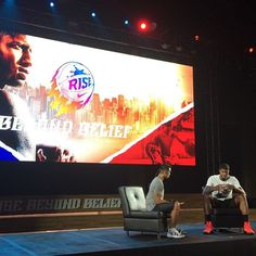 """PG in the house! #nike #nikerise #nikebasketball #kickspotting #rise #risebeyondbelief #PGinManila @ygtrece"" Photo taken by @kickspotting on Instagram, pinned via the InstaPin iOS App! http://www.instapinapp.com (07/20/2015)"