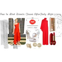 Diane Kruger's Oscars 2015 After-Party Style by #jakiishoes