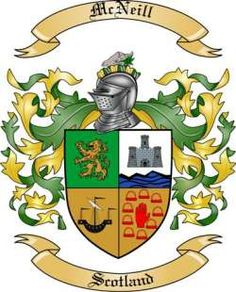 McNeill Family Coat of Arms from Scotland2
