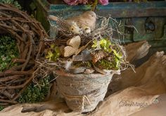 Home Deco, Planter Pots, Easter, Style, Pictures, Swag, Easter Activities, Home_decor, Outfits