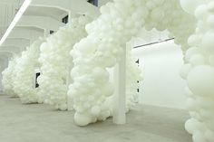 In situ installation by Charles Petillon Show at Magda Danysz Gallery in Shanghai