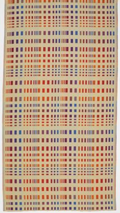 "Richard Landis + Jack Lenor Larsen: designers, Jack Lenor Larsen Inc.: producer | Collection: Concept | double cloth: each layer 2/2 twill | linen + polyester | 112"" x 50-3/4"" 