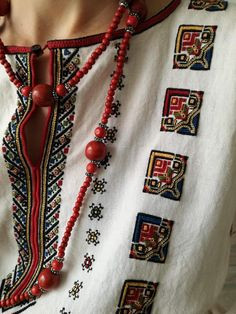 Diy Embroidery, Cross Stitch Embroidery, Embroidery Patterns, Cross Stitch Patterns, Sewing Patterns, Folk Fashion, Ethnic Fashion, Khadi Kurta, Ethno Style