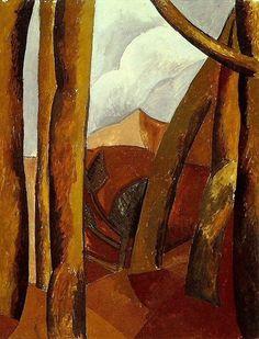 """Pablo Picasso - """"Landscape"""", 1908"""