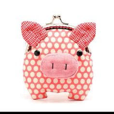 I need to find a coin purses like this. So adorable