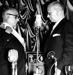 VENEZUELA: Juramentación de Rómulo Betancourt como Presidente de la República (febrero de 1959).
