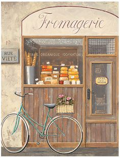 Fromagerie - cheeses ..