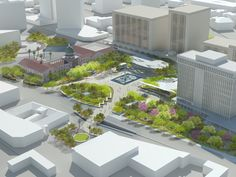 January 8 Memorial and El Presidio Park Master Plan (Currently in Schematic Design) Chee Salette Architecture Office