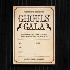 Ghoul's Gala