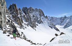 Peignée Verticale: Col dArgentière (3552m), par le glacier du Tour Noir