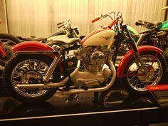 1958 by notliebags Ironhead Sportster, Sportster Motorcycle, Motorcycle Gear, Harley Davidson Motorcycles, Bobber, Hd Vintage, Vintage Cars, Flat Track Motorcycle, Old Scool