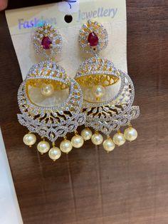 #earring #shopping #jhumka #jhumki #indianbride #telugubride #tamilbride #indianbridal #southindianbride #earrings #southindianjewellery #czearrings #silverjewellery #silverjewelry #silver #necklace #necklace #onegramjewellery #indianjewellery #earrings #jewelry #jewellery To order WhatsApp +91-9849713635