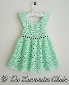 By dailycrochet - August 29th, 2016 Incredibly beautiful crochet pattern to use for a sweet gift! With an exquisite design, this lace toddler crochet dress, looks delicate and perfect for ...