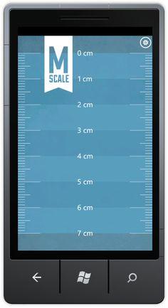 Metro Scale Windows Phone Concept