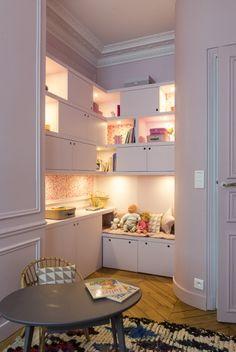 1ca5ac543754bf 96m² - Paris 17e aménagé et décoré par la décoratrice d intérieur Vanessa  Faivre