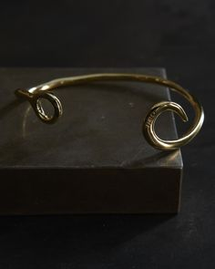 Giles & Brother- Classic Hook Cuff
