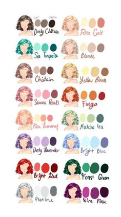 Drawing Hair Ideas Ideas for different hair colors Hair Reference, Drawing Reference, Drawing Techniques, Drawing Tips, Drawing Ideas, Real Techniques, Drawing Sketches, Art Tutorials, Drawing Tutorials