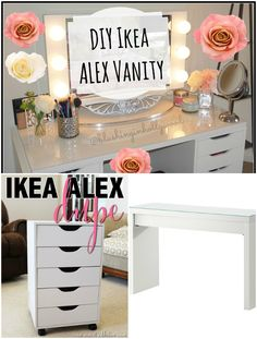 kitchen vanity cabinets 13 diy makeup organizer ideas for proper storage 22118